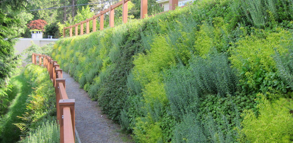 Landscaping With The Flex Mse Vegetated Wall System